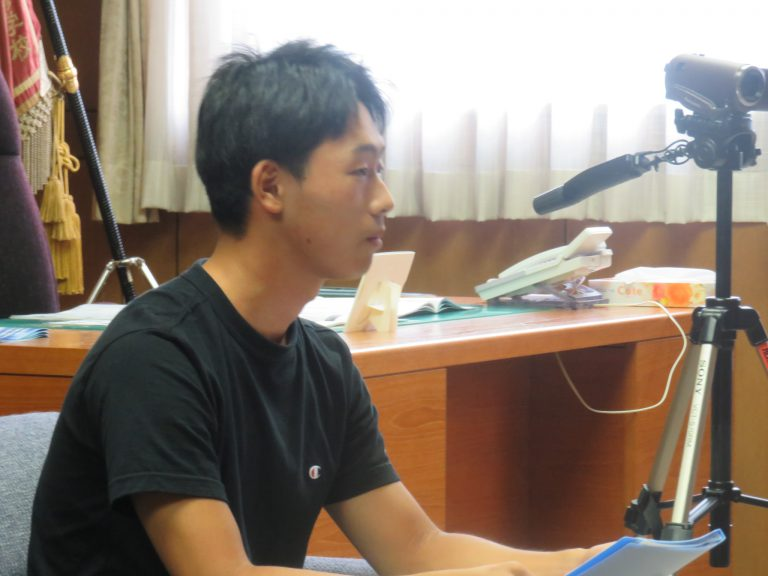 学生広報インタビュー ㈱ドコモCS北海道