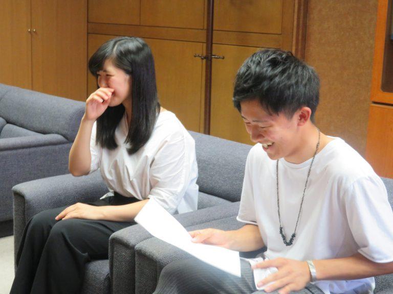 学生広報インタビュー (株)セコマ